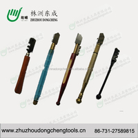 oil feed plastic handle glass cutter for ceramic tile cutting