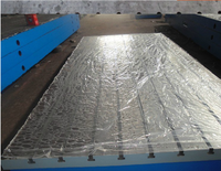 Cast Iron Inspection welding Tables With T-slot