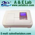 precio bajo los rayos uv espectrofotómetro visible para la prueba