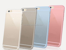 2015 Good Price transparent Cell Phone Housing silicon cover for moblie
