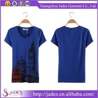 Guangzhou factory best selling high-end custom tshirt womenwholesale plain white t shirts