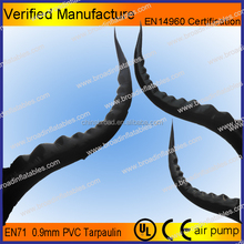 Hot selling inflatable tail,inflatable giant tail,inflatable Monster tail
