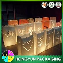 Bulk dreamlike outdoor paper candle lantern bags