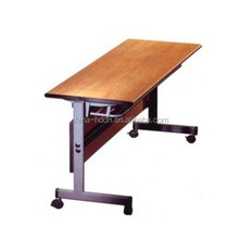 Cheapest Modern Steel office foldble Reading table for school furniture