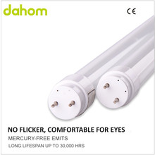 Frosted Cover Glass Material Double-End Power Supply 18W 1500LM 1.2M T8 LED Tube Light Lamp