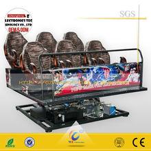 Wangdong usado equipamento do parque de diversões 7d usado equipamentos de cinema