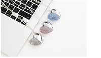 Crystal Heart 4gb 8gb 16gb 32gb jewelry usb flash drive jewelry usb memory pen driver gifts gadget.usb flash memory disk.