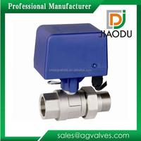 Modern promotional brass mini motorized ball valve dn25