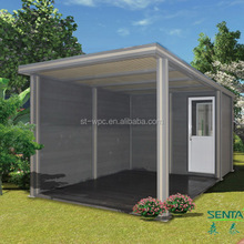 Low labour cost environmental prefab container house for sale