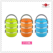ABS+SS Plastic Type and Eco-Friendly Feature Insulated Food Warmer Container