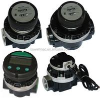 digital water meter , oval gear flow meter , water flow meter with pulser