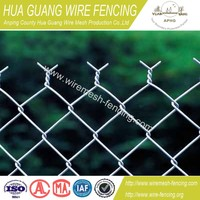 galvanized chain link fence/PVC Coated Chain Link Fence/used chain link fence for sale