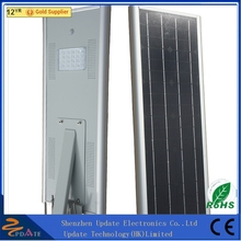 18w Solar Panel Lithium Battery Power Energy Pole Price Integrated Power All In One Led Solar Street Light For Garden Yard