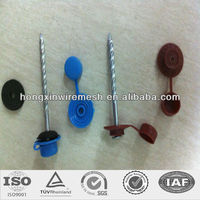 hot sell umbrella plastic rubber washer roofing nail polish factory in china