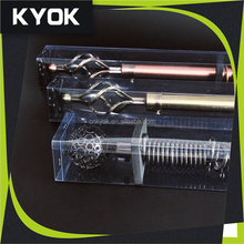KYOK eletroplated AB AC 16/19mm iron extension curtain rod with PVC package