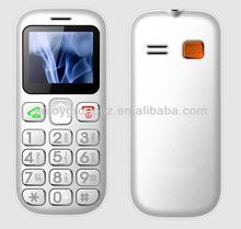 W76c 1.77inch easy to use dual sim 3G elder china senior mobile phone