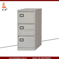 Bush Clancy Vertical File Cabinet 3 Drawer Hansen Grey Lockable Pedestal Storage Cabinets