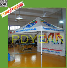 collapsible foldable printed tent with canopy