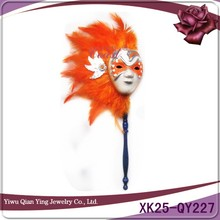 Pretty hanging ornament venetian mini masks small venetian mask with stick
