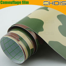 High quality high flexible car wrapping film camouflage