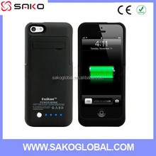 HOT 2200mah Slim Extended Protective Backup Portable Cover battery case for iphone 5 5C 5S