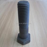 Gr8.8 hex head half thread bolt