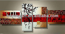 High quality hand-painted abstract group oil painting Modern abstract philippine oil paintings