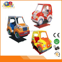 funny children carnival electronic newest coin operated car kids ride on car machine