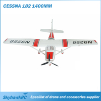 Big RC airplane model cessna aircraft cessna 182 1410mm with brushless motor EPO foam for enjoy flight