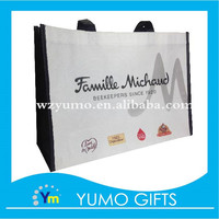 shopping vogue non woven bags custom