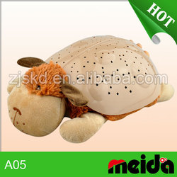 Star projector projection lamp plush pet toy for kids bed-time