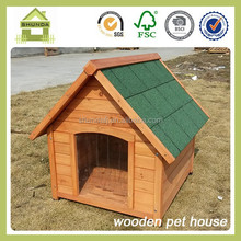 SDD04 new design fir wood dog kennel