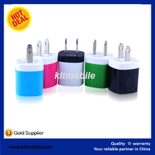 folding plug usb charger 2015 factory OEM with logo mulit models for selection