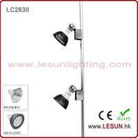 Double heads OEM height MR16 12V jewelry showcase led light LC2830