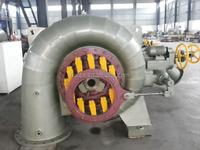 Mini Hydro turbine/ 125kw Francis turbine/Hydropower plant