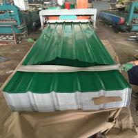 PE/PVDF/SMP color painted antirust corrugated metal steel roof