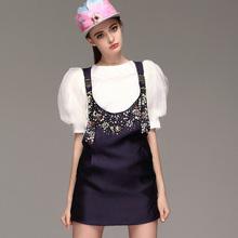 smart well-dressed elegant 2015 morden short sleeve evening dresses china