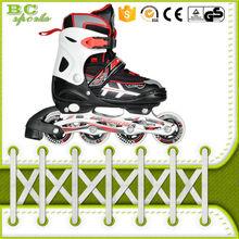Cuatro ruedas de rodillos freestyle zapatillas de skate para adultos