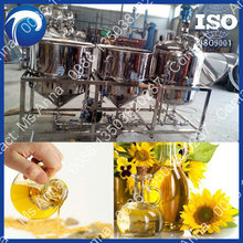 high efficiency cooking oil refiner without deodorization 5tons/day