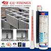 High bond chemical mortar for anchors hollow bricks