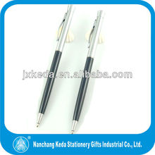 2014 new style best seller smoothy writing hotel slim twist pen