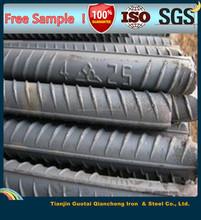 good quality price steel rebar/deformed steel bar/reinforced steel