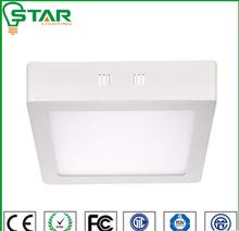 200*200 led light fixtures surface mounted led panel light