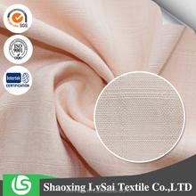 beautiful color fashion rayon slub yarn fabric for clothing