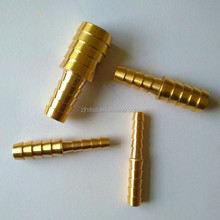 brass equal or reducing hose barb connector