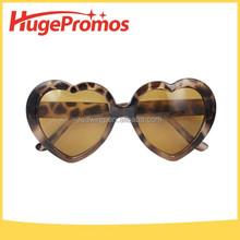 Heart Tortoise Shell Sunglasses,Plastic Leopard Print Heart Sunglasses