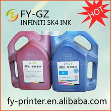 SK4 Ink Large Format Solvent Ink Infinity FY Union SK4 Ink For SPT Printer