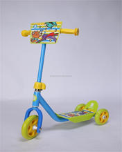 2015 New Arrival 3+ mini 3 wheel kick district pro scooter for kids(EN71 Approved) plastic material