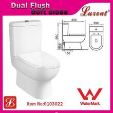 Jet european standard rose toilet