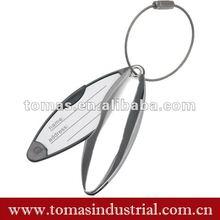 Fashion metal magnetic custom name keychains